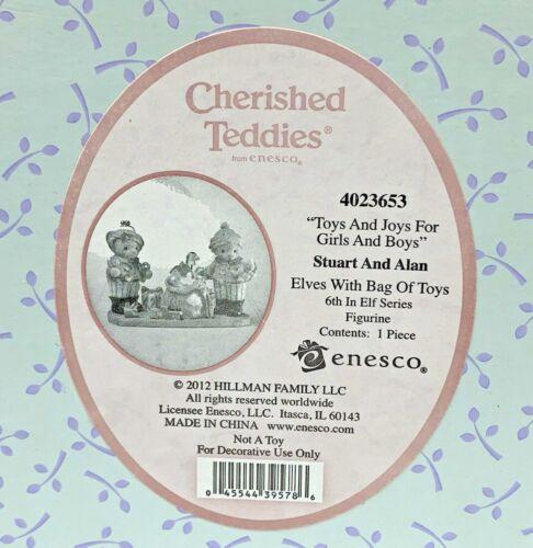 Cherished Teddies 2012 Stuart & Alan Toys & Joys 4023653 NIB