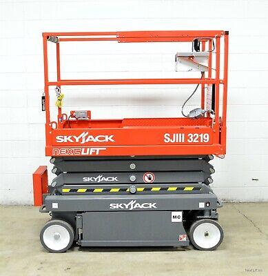 New 2019 Skyjack Sjiii 3219 19 Scissor Lift 24 Working Height