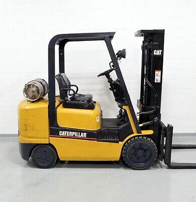 Nice Cat Gc30k 6000 Lb Lpg Forklift 6000 Caterpillar One Owner