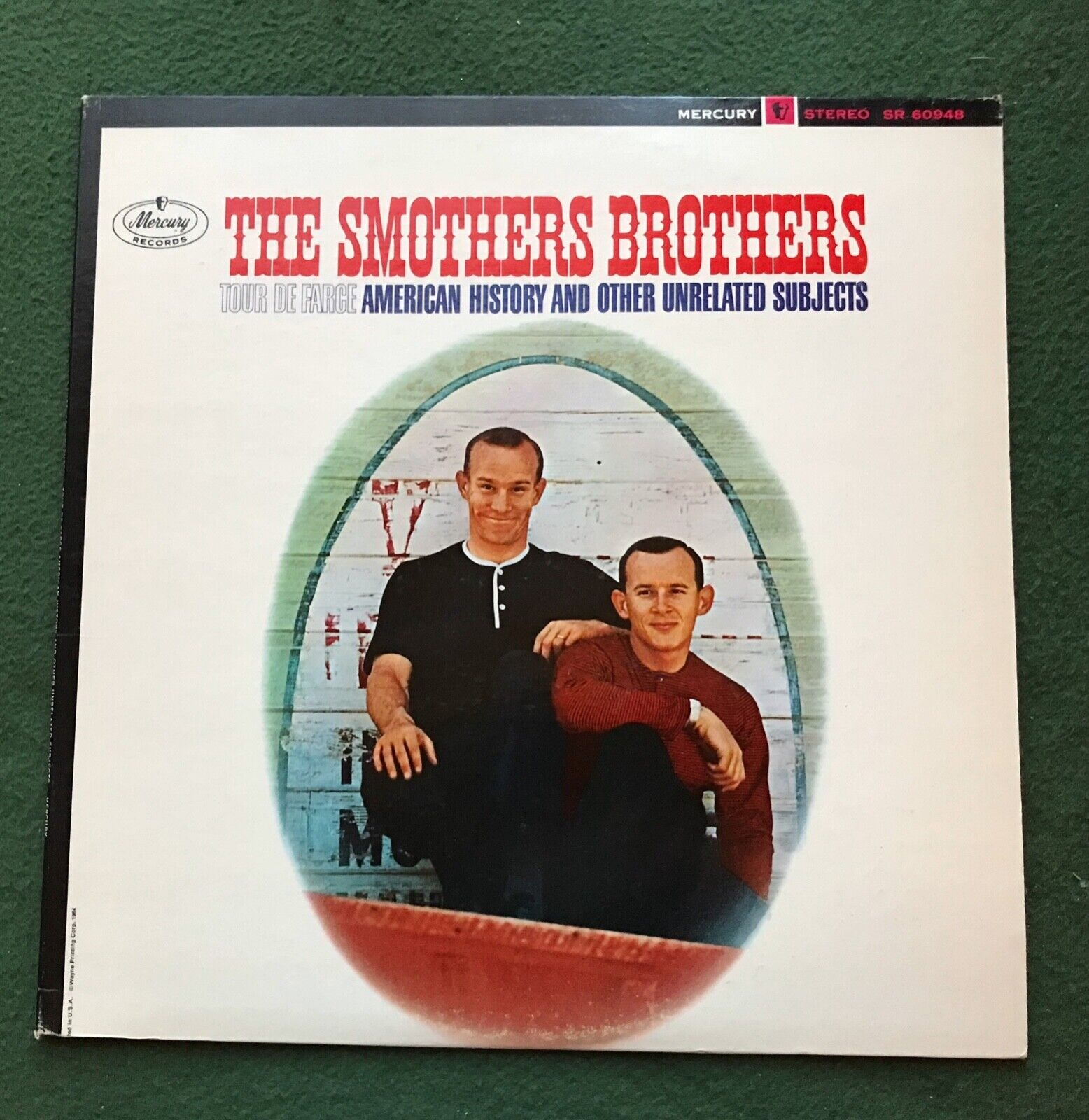 The Smothers Brothers Tour De Farce American History Album LP Record Mercury - $7.00