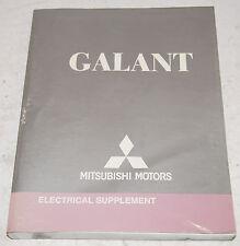 2005 Mitsubishi Galant Factory Shop Electrical Repair ...