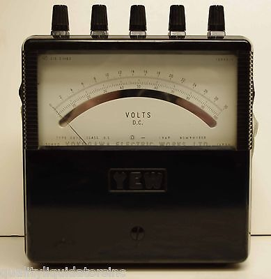Yokogawa Dc Voltmeter 2011-39 Nice