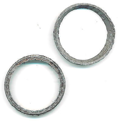 Tapered Exhaust Gaskets Replaces 65324-83-A Harley 84-17 Big Twin & 86-17 XL ()