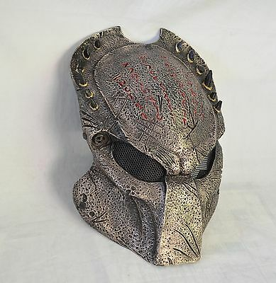 3e6558669823b Paintball CS Full Wire Mesh Protection Alien Vs Predator Mask Halloween  M014A