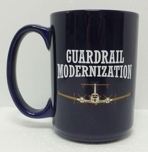 US Army Beechcraft RC 12 Guardrail SIGINT Dark Blue Ceramic Coffee Cup Mug 16 oz