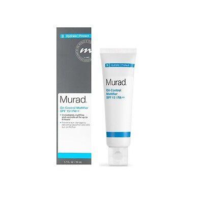 Murad Oil Control Mattifier Spf 15  1 7 Oz New  In Box     Exp 8 18