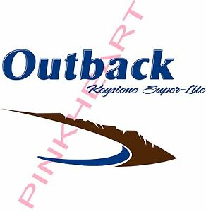 Outback keystone super lite kits Decal kit RV sticker decals trailer camper USA