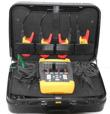 Fluke 435 Industrial 3 Phase Power Quality Analyzer Wi400s Clamp