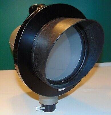Olympus Microscope Projection Viewer 366989 Used On Bh Trinocular Head