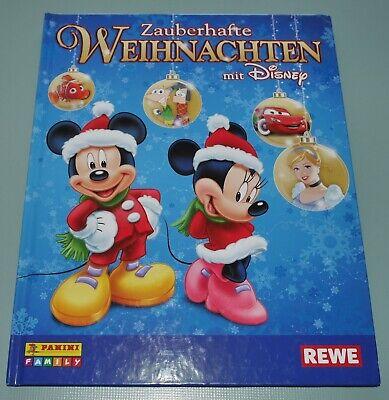 ten mit Disney PANINI REWE STICKER SAMMELALBUM fast komplett (Weihnachten Sammelalbum)