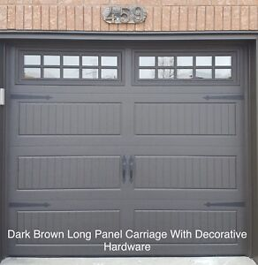 8x7 INSULATED GARAGE DOORS............ $900