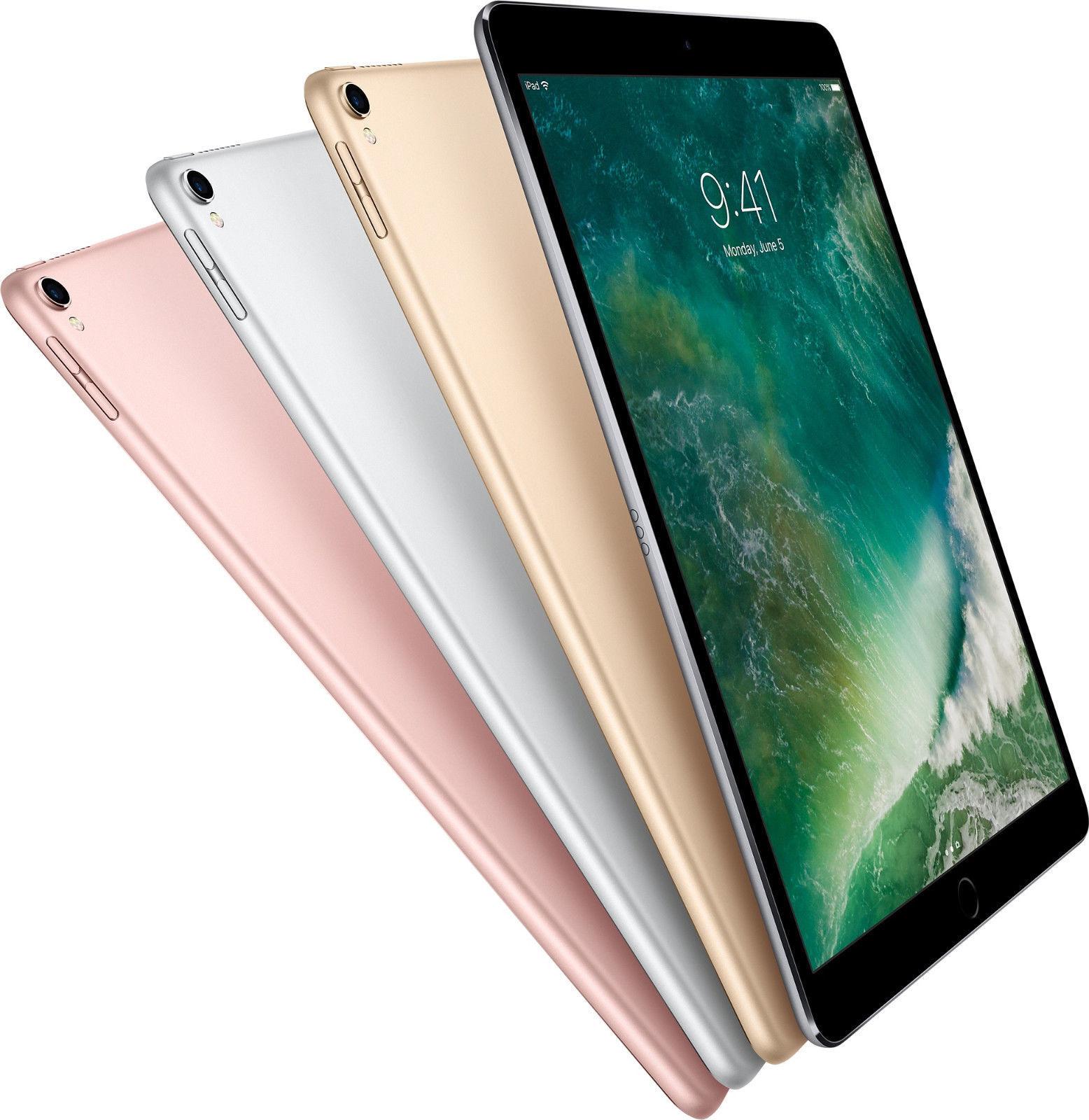 "Ipad - Apple iPad Pro 128GB WIFI+Cellular 12.9"" Retina Display Touch ID iOS Tablet"