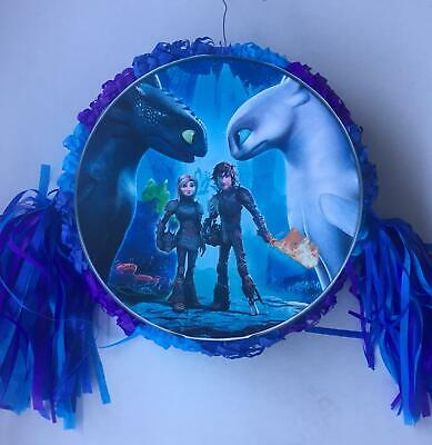 How to Train A Dragon  Pinata..Party Game Party Decoration FREE SHIPPING