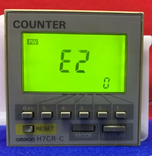 Omron Counter Digital H7CR-C 12 to 24VDC/24VAC 50/60HZ,