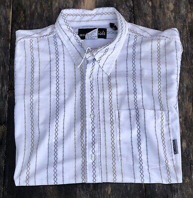 Men's VINTAGE 1990s Billabong Short Sleeve Button Up Shirt - Medium Size