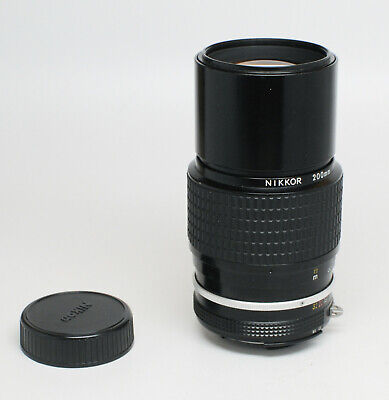 Nikkor 200mm 1:4 Ai Lens for Older Nikon Cameras