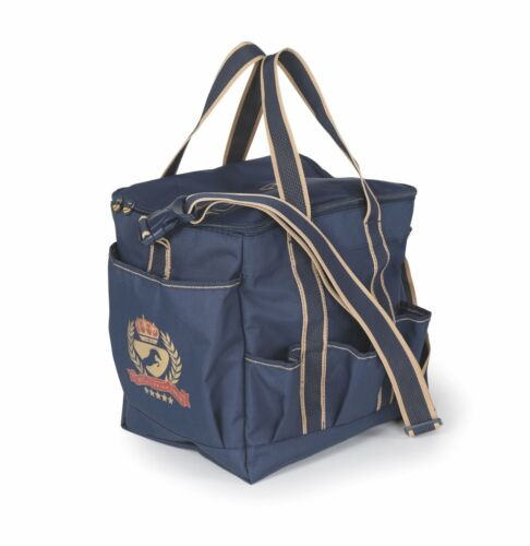 Shires Aubrion Team Navy Grooming Kit Horse Equine Tote Bag #8506