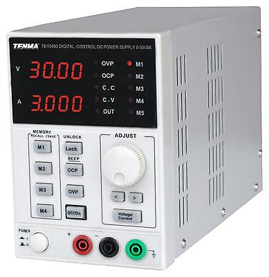 Power Supply 1ch 30v 3a Adjustable Test Bench Top Power Supplies