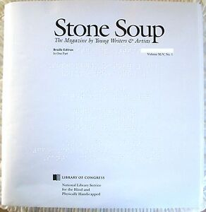 Stone Soup - June 2018 (Braille for the blind)