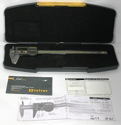 Sylvac 17211 910.1522.10 S Cal Pro 200mm Digital Micrometer