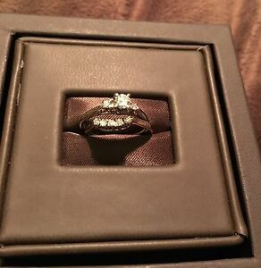 Birks wedding/ engagement ring set