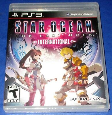 Star Ocean: The Last Hope International PS3 *Brand New! *Sealed! *Free