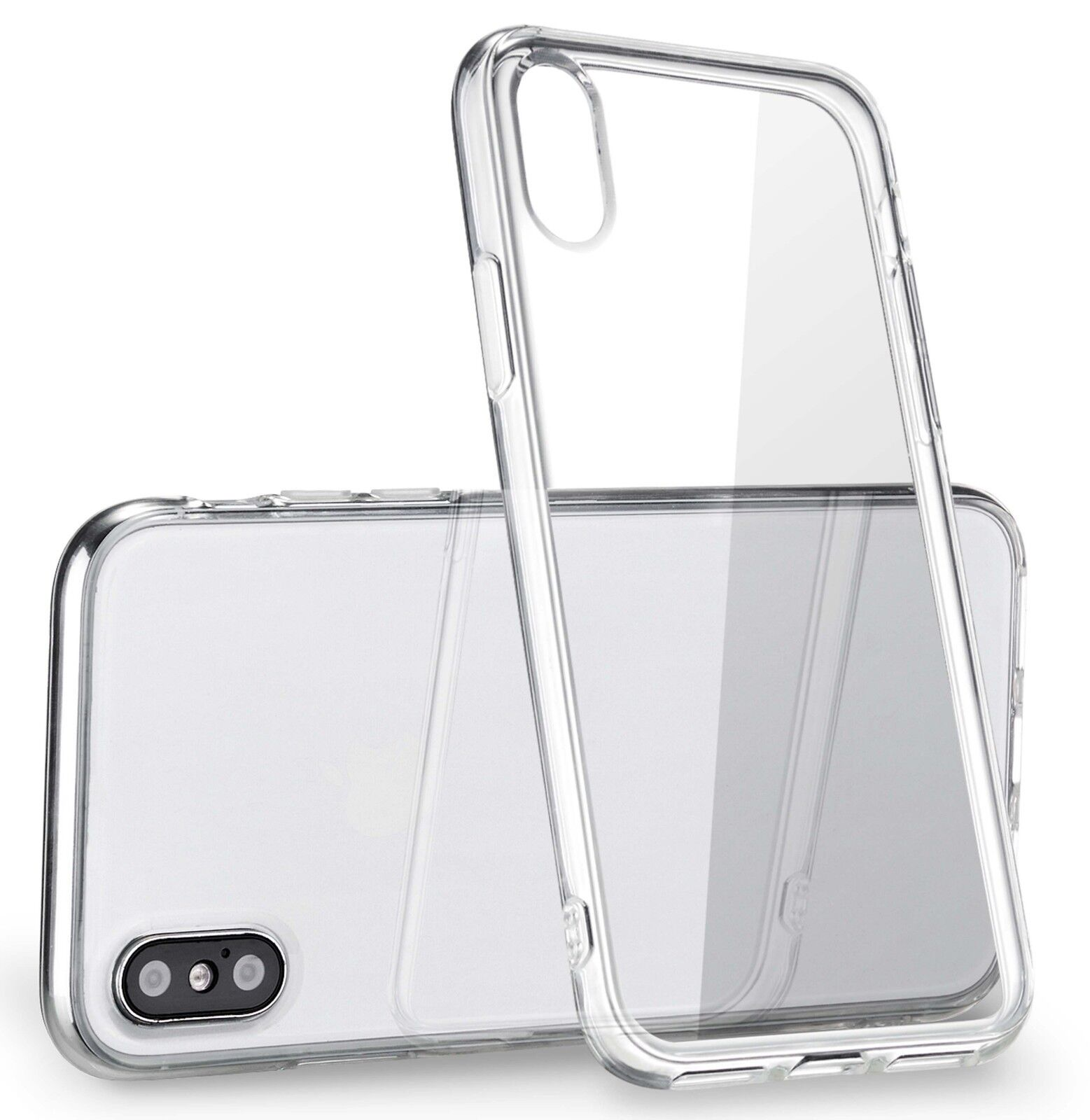 For Apple Iphone X Case Silicone Crystal Clear Bumper  Gel Iphone 10 Soft Cover
