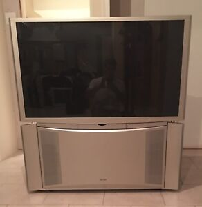 """50"""" rear projection TV and 39"""" CRT TV"""