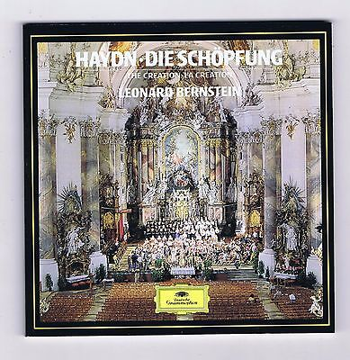 HAYDN BOX SET 2 CDS LA CREATION/ LEONARD BERNSTEIN/ JUDITH BLEGEN/ THOMAS MOSER