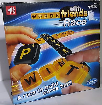 New In Box 2013 Hasbro Gaming Zynga Words With Friends Race Game Letter Tiles