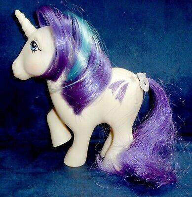 Rose: My Little Pony Vintage Unicorn Glory #7 EXCELLENT glittery symbols G1
