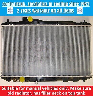 BRAND NEW RADIATOR HONDA CIVIC MK8 2005 TO 2011 13  14  18 PETROL MANUAL