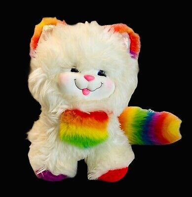 Vintage 1983 Rainbow Brite Kitty Brite Hallmark cat kitten plush stuffed animal