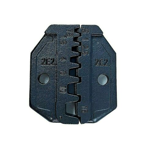 Crimp Tool Die 2E2 Pin Terminal Insulated Non-insulated AWG 20-6 Klein Greenlee