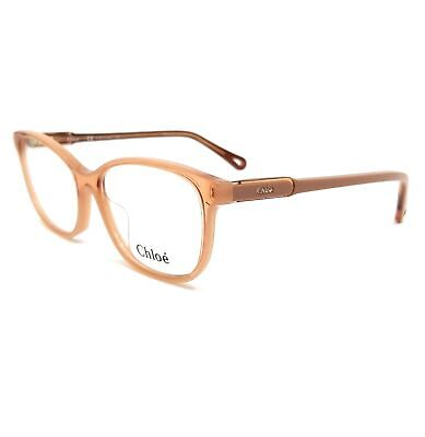 CHLOE Eyeglasses CE2728 749 Peach Rectangle Women 53x16x140