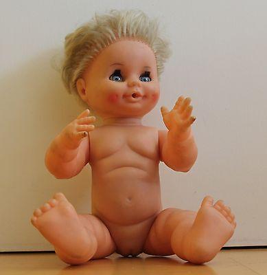 Schildkröt Puppe  70er Jahre ca 35 cm
