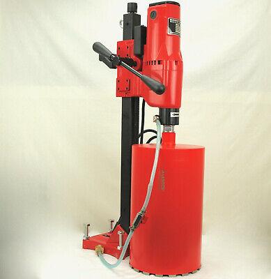 New Bluerock Tools Concrete Coring 10 Z-1 Core Drill W Stand 2 Free Bits
