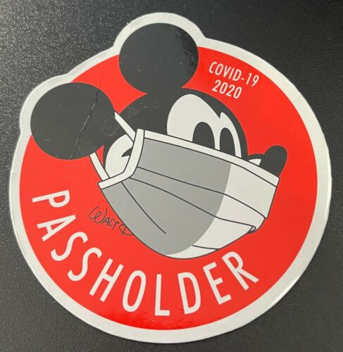 Disney Passholder Magnet Mickey Mask 2020 New No package free shipping