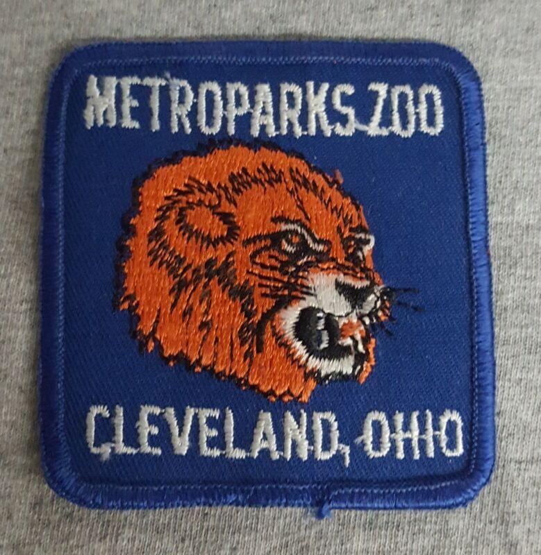 Cleveland Metroparks Zoo Vintage Tiger Patch 1980