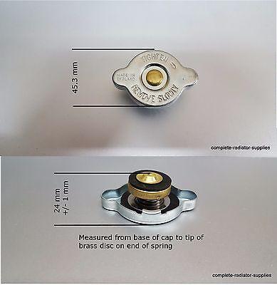 Japanese Type S Radiator Pressure Cap 13 Bar  19 psi