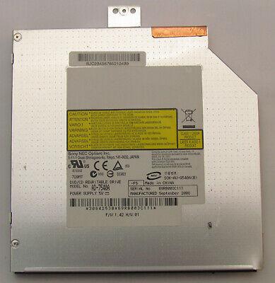 Sony DVD CD Laufwerk AD-7540A NEC Optiarc Fujitsu Xa2528 Rewritable Drive Slimli