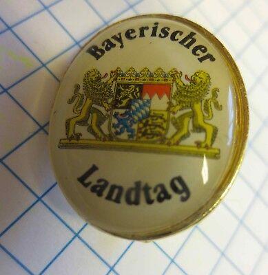 Pin Sticker Anstecker vom bayerischen Landtag Bayerischer Landtag Anstecknadel