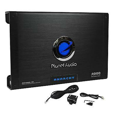 New Planet Audio AC4000.1D 4000 Watt Class D Mono Amplifier 1 Ohm Stable Car Amp