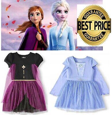 Frozen Dress For Little Girls (Disney Frozen 2 Elsa, Anna Cosplay Tutu Dress (Little Girls & Big)