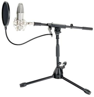 Tolles USB Mikrofon Podcast Bundle ideal für Broadcasting und Hiphop Recording