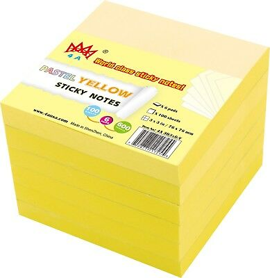 4a Sticky Notes Memo Reminder 3 X 3 Inches Office Supplies Self-stick Notes