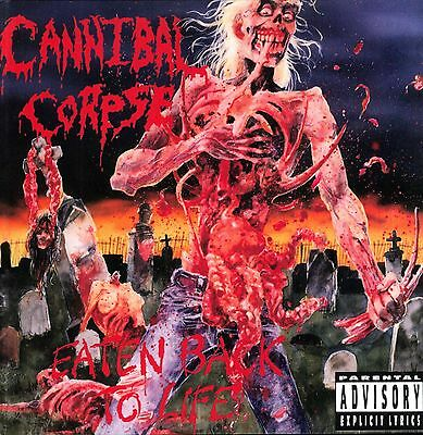 CANNIBAL CORPSE - Eaten Back To Life Art Print Poster 12 x 12
