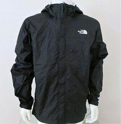 THE NORTH FACE Venture Men's Rain Jacket TNF BLACK-TNF WHITE sz S - XXL MSRP $99