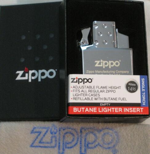 ZIPPO  BUTANE Lighter INSERT Empty SINGLE TORCH 65826 Push Button NEW 2020