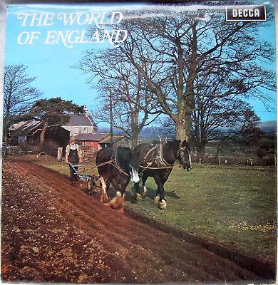 The World of England; Vinyl LP (Decca SPA-R 190)